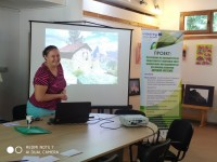 Photo from the Workshop's speaker