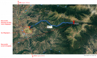 Route to the eco trail, starting from Brlagoevgrad